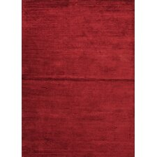 Basis  Medium Red Solid Rug