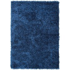Flux Blue Solid Rug
