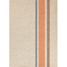 Grant Design I-O Beige/Brown Stripe Rug