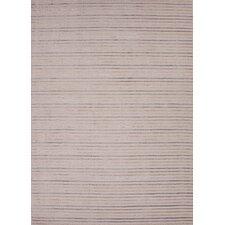 Konstrukt White Stripe Rug