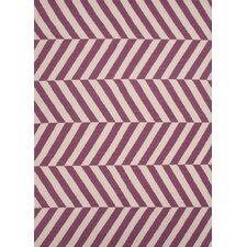 Maroc Pink/Purple Stripe Rug
