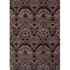 Narratives Gray/Black Arts/Crafts Rug