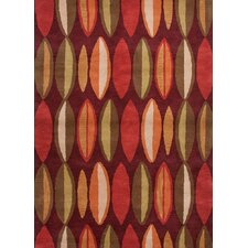 <strong>Jaipur Rugs</strong> Traverse Ruby Geometric Rug