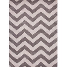 Traverse Gray Geometric Rug
