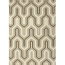 <strong>Jaipur Rugs</strong> Urban Bungalow Light Gold Geometric Rug