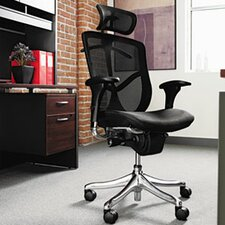 <strong>Alera®</strong> EQ Series Ergonomic Multifunction High-Back Mesh Office Chair