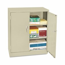 Assembled Economy Storage Cabinet in Putty