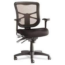 <strong>Alera®</strong> Erix Series Mid-Back Mesh Multifunction Swivel / Tilt Office Chair