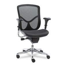 EQ Series Ergonomic Multifunction Mid-Back Mesh Office Chair