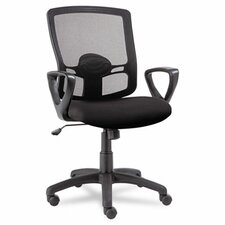 <strong>Alera®</strong> Etros Series Mid-Back Mesh Swivel / Tilt Office Chair