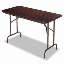 "<strong>Alera®</strong> 48"" Folding Table in Walnut"