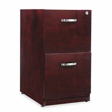 Verona Veneer Series Two-Drawer Pedestal File