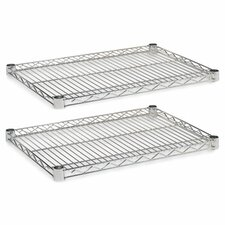 "18"" x 24"" Industrial Wire Shelves"