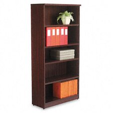 Valencia Series Five-Shelve Bookcase and Storage Cabinet