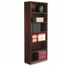 Valencia Series Six-Shelve Bookcase and Storage Cabinet