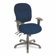 <strong>Alera®</strong> Wrigley Series Mid-Back Multifunction Office Chair
