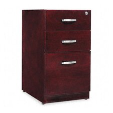 Verona Veneer Series Three-Drawer Pedestal File