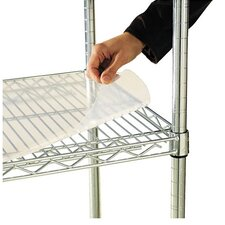 "36"" W x 24"" D Shelf Liners for Wire Shelving in Clear Plastic"