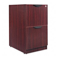 <strong>Alera®</strong> Valencia Series 2-File Drawer Full Pedestal