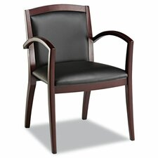 <strong>Alera®</strong> Leather Reception Lounge Guest Chair