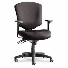 Wrigley Pro Series Mid-Back Multifunction Office Chair with Seat Glide