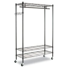 <strong>Alera®</strong> Wire Shelving Garment Rack