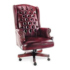 <strong>Alera®</strong> Traditional Series High-Back Wing Back Swivel / Tilt Office Chair