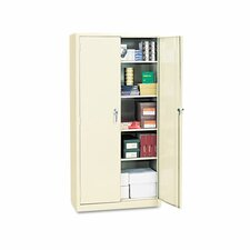 Assembled High Storage Cabinet, 4 Adjustable Shelves, 36 x 18 x 72