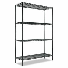 "All-Purpose Wire 72"" H 3 Shelf Shelving Unit Starter"
