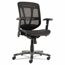 <strong>Alera®</strong> Eon Series Mid-Back Suspension Mesh Managerial Chair