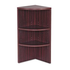 "<strong>Alera®</strong> Valencia Series Upper End Cap 35.5"" Bookcase"