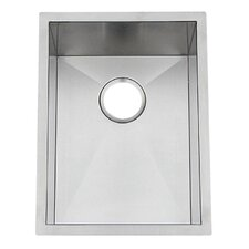 "Chef Pro 15"" x 19"" Single Bowl Undermount Kitchen Sink"