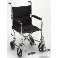 GO! Mobility Steel Transport Bariatric Wheelchair
