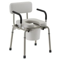 <strong>Nova Ortho-Med, Inc.</strong> Padded Drop-Arm Commode