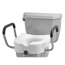 <strong>Nova Ortho-Med, Inc.</strong> Raised Toilet Seat with Detachable Arms