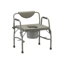 Bathroom 365 Bariatric Drop-Arm Commode