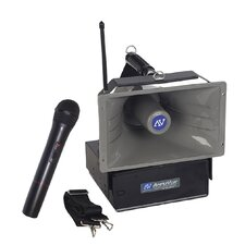 <strong>AmpliVox Sound Systems</strong> Wireless Handheld Half-Mile Hailer
