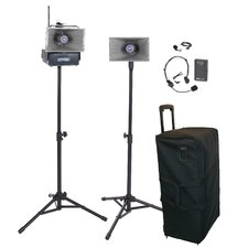 <strong>AmpliVox Sound Systems</strong> Wireless Half-Mile Hailer Kit