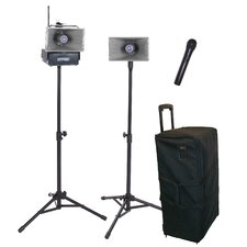 <strong>AmpliVox Sound Systems</strong> Wireless Handheld Half-Mile Hailer Kit