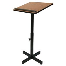 <strong>AmpliVox Sound Systems</strong> Xpediter Adjustable Lectern Stand without Sound