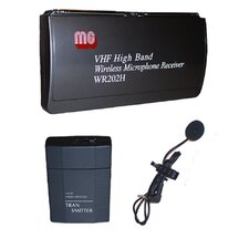 VHF Wireless Lapel and Headset Mic Kit