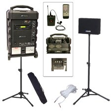 <strong>AmpliVox Sound Systems</strong> Titan 800L Wireless Portable PA Bundle