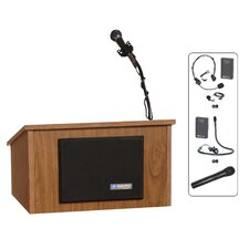 <strong>AmpliVox Sound Systems</strong> Tabletop Lectern