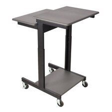 Mobile Single Person Compter Desk