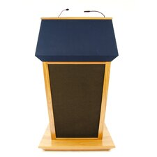 <strong>AmpliVox Sound Systems</strong> PatriotPlus Wired Sound Lectern