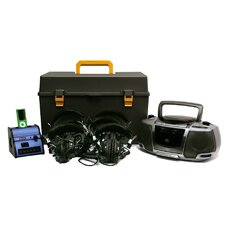 <strong>AmpliVox Sound Systems</strong> Digital Audio 6 Station Listening Center