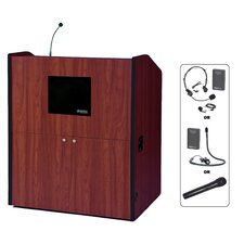Wireless-Sound Wide-Multimedia Lectern