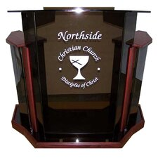 Acrylic Deluxe Tabletop Lectern
