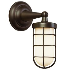 Admiral Simple 1 Light Outdoor Wall Lantern