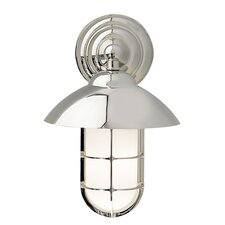 Admiral Classic 1 Light Outdoor Wall Lantern